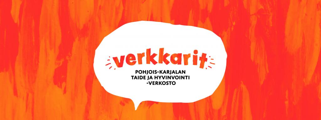 Verkkarit Pohjois-Karjalan Taide ja hyvinvointi -verkoston logo